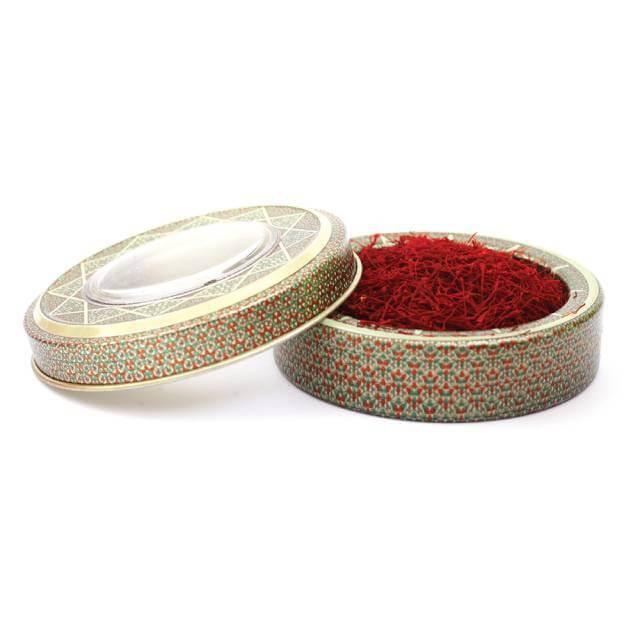 بسته بندی طرح خاتم زعفران | صدف پک