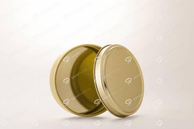 بسته بندی فلزی مناسب شیرینی و شکلات   صدف پک