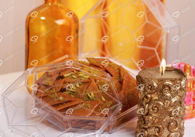 انواع ظروف بسته بندی شیرینی   شرکت صدف پک