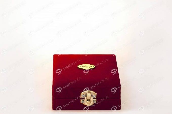 ظرف بسته بندی مخملی برای زعفران | شرکت صدف پک