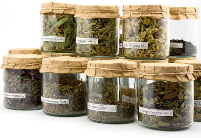 ظرف های شیشه ای گیاهان دارویی   شرکت صدف پک
