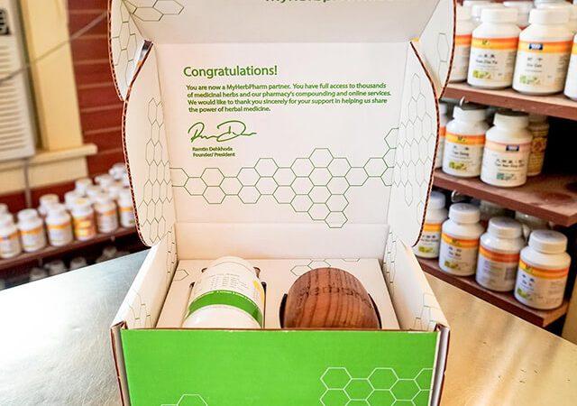 جعبه بسته بندی گیاهان دارویی | شرکت صدف پک