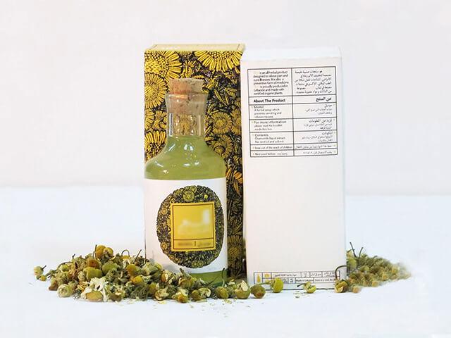 بسته بندی شیشه ای گیاهان دارویی | شرکت صدف پک