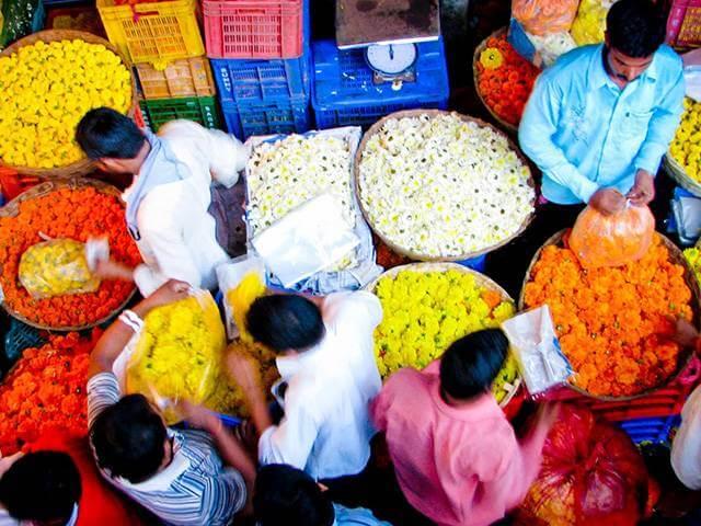بازار شهر بمبئی ، محلی برای تجارت زعفران | شرکت صدف پک