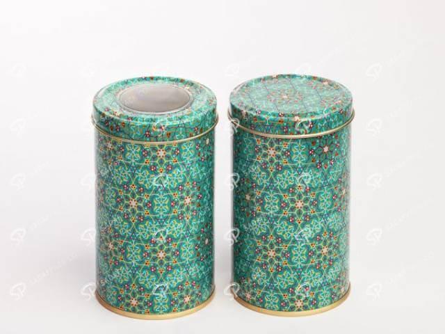 ظروف فلزی خشکبار مخصوص چای و قهوه | صدف پک