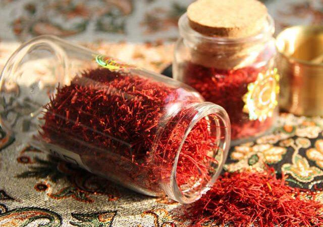 ظروف شیشه ای بسته بندی زعفران | شرکت صدف پک