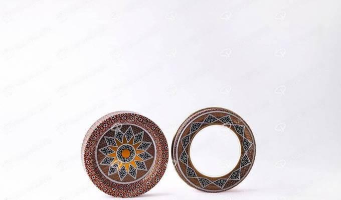 طرح خاتم ظروف بسته بندی زعفران | شرکت صدف پک