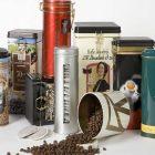 قوطی فلزی قهوه و چای | صدف پک