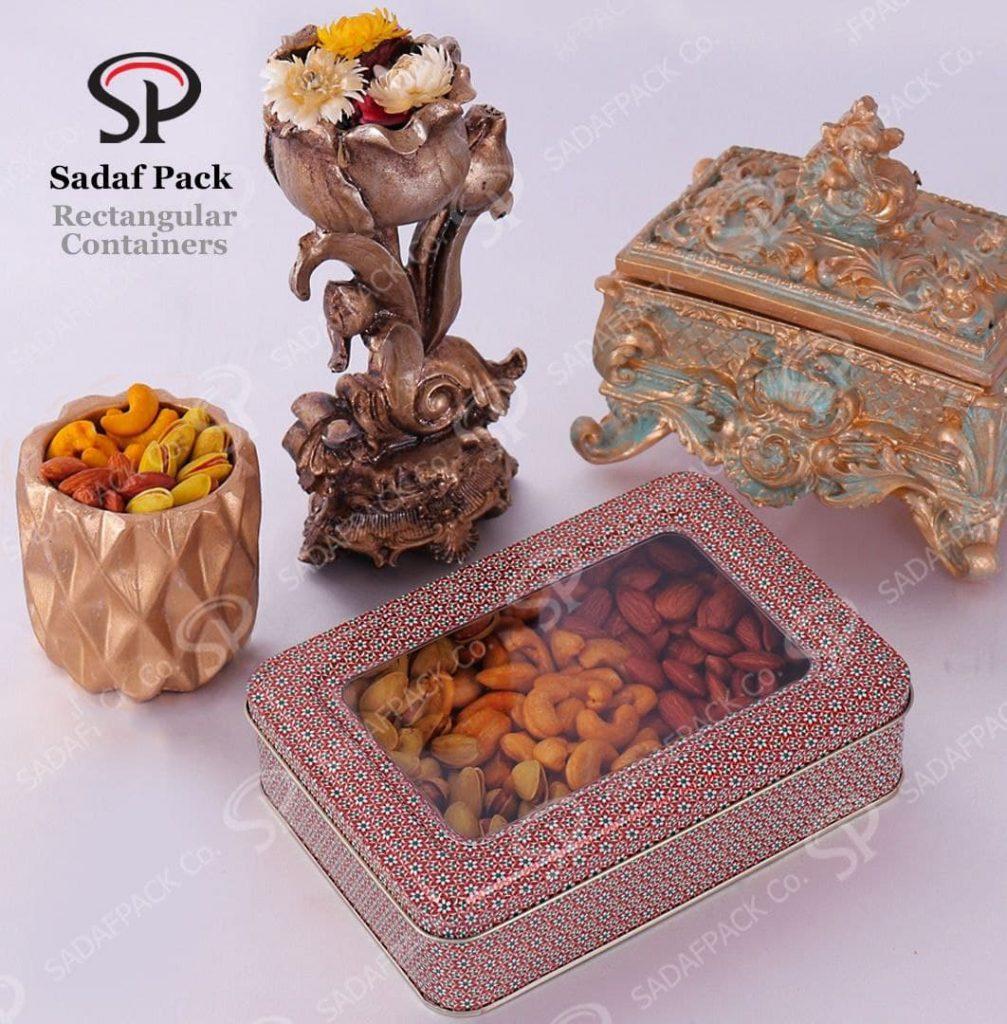 خرید ظروف فلزی خشکبار از صدف پک بسیار پیشنهاد میشود.